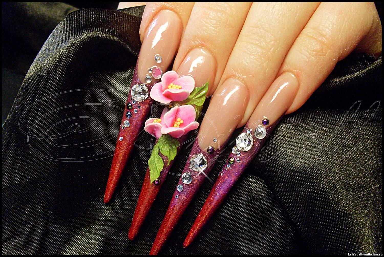 Нарощенные ногти 0.5 см